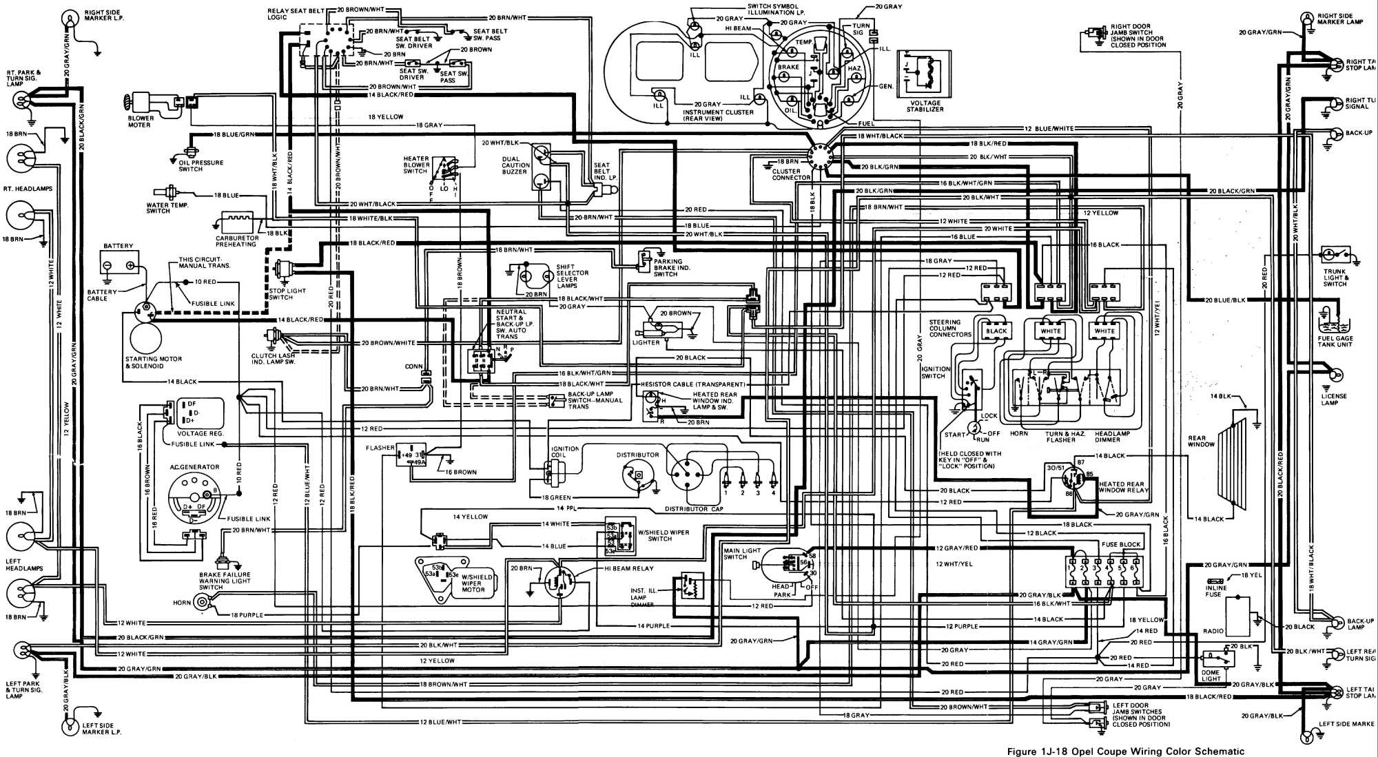 Opel Engine Schematics - Automotive Wiring Diagram •